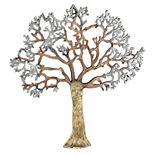 Cape Craftsmen Metallic Tree Outdoor Wall Art