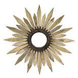 Cape Craftsmen Wood Flower Mirror Wall Decor