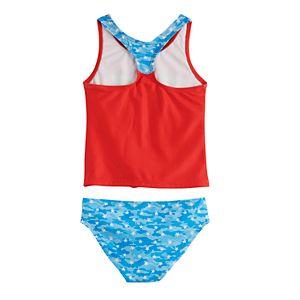 Girls 4-6x Wonder Woman Tankini Swimsuit