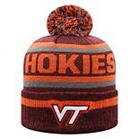 Men's Top of the World Virginia Tech Hokies Pom Buddy Knit Beanie