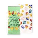 Celebrate Easter Together Grandma's Peeps Kitchen Towel 2-pk.