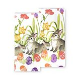 Celebrate Easter Together Bunny Toss Kitchen Towel 2-pk.