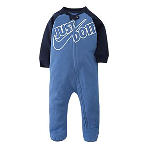 Baby Boy Nike Footed Full-Zip Coverall