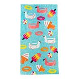 Celebrate Spring Together Pool Floats Beach Towel