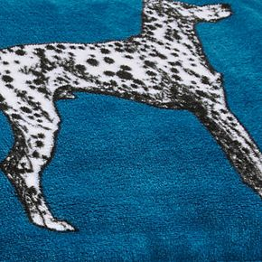 Novogratz Major Dog Patterned Blanket
