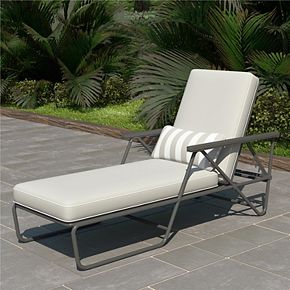 Novogratz Poolside Collection Connie Outdoor Chaise Lounge