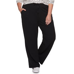 Plus Size SONOMA Goods for Life? Straight Leg Lounge Pants