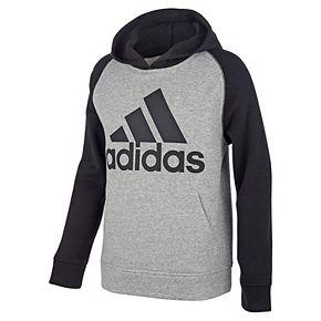 Boys 4-7 adidas Fleece Raglan Hoodie