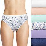 Women's Hanes® Ultimate 6-Pack Breathable Hi Cut Panty 43H6C