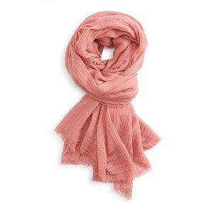 Women's LC Lauren Conrad Crinkle Woven Wrap Scarf