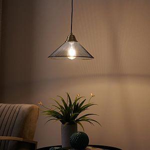 Southern Enterprises Bachman Black Downlight Mini Pendant Lamp