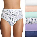 Women's Hanes Ultimate® 6-Pack Breathable Cotton Brief Panty 40H6CC