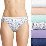 Women's Hanes Ultimate® 6-Pack Breathable Cotton Bikini Panty 42H6CC