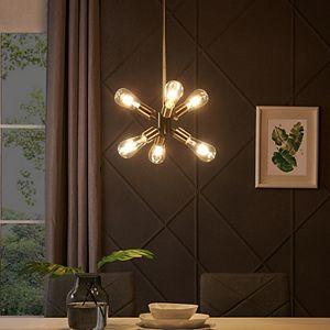 Southern Enterprises Hamlin 6-Light Pendant Lamp