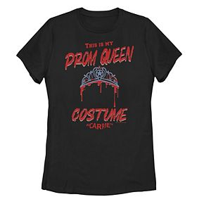 "Juniors' Carrie ""This Is My Prom Queen Costume"" Tee"