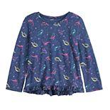 Toddler Girl Jumping Beans® Ruffle-Hem Tee