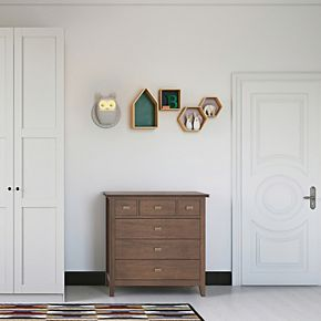 Simpli Home Artisan Contemporary Bedroom Chest of Drawers