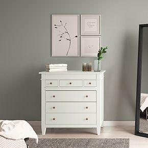 Simpli Home Carlton Contemporary Bedroom Chest of Drawers