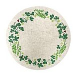 Celebrate St. Patrick's Day Together Clover Placemat