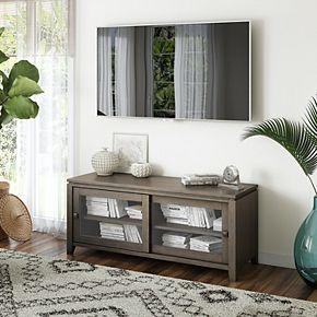 Simpli Home Cosmopolitan Contemporary TV Media Stand
