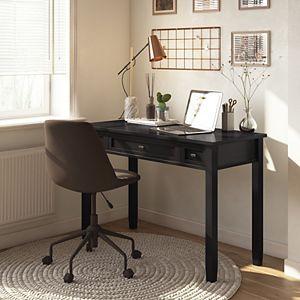 Simpli Home Warm Shaker Writing Office Desk