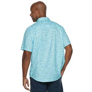 Men's Reel Life Pacific Series Woven Short Sleeve Button-Down Shirt