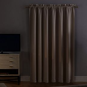 Sun Zero Norway 2-pack Theater Grade 100% Extreme Blackout Window Curtains