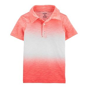 Baby Boy Carter's Gradient Slubbed Polo