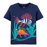Baby Boy Carter's Textured Fish Snow Yarn Tee