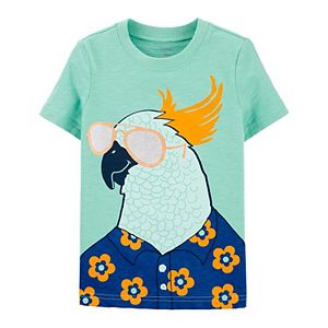Baby Boy Carter's Parrot Sunglasses Graphic Tee
