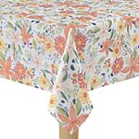 Celebrate Spring Together Bright Floral Tablecloth