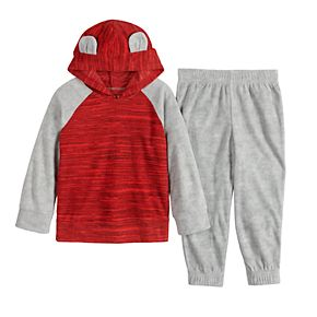 Toddler Boy Jumping Beans® Microfleece Bear Set