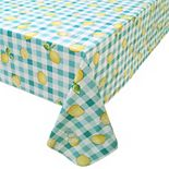 Celebrate Spring Together Vinyl Lemon Tablecloth