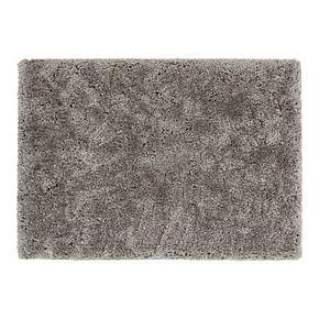 Chesapeake Microfiber Polyester Shag 5'x7' Oreo Area Rug