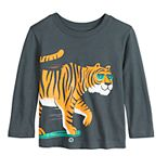 Toddler Boy Jumping Beans® Long Sleeve Softest Graphic Tee