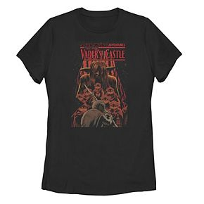 """Juniors' Star Wars """"Tales From Vader's Castle"""" Poster Tee"""