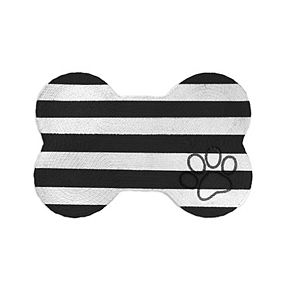 Park B. Smith P.B. Paws & Co. Striped Pet Mat