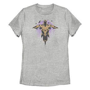 Juniors' Marvel Thanos Armor Scarecrow Tee