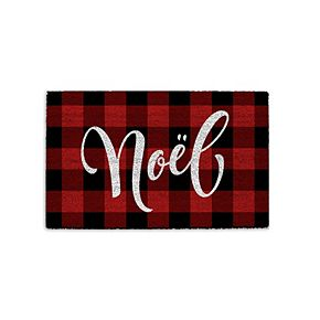 Park B. Smith Quality Living Holiday Noel Coir Doormat