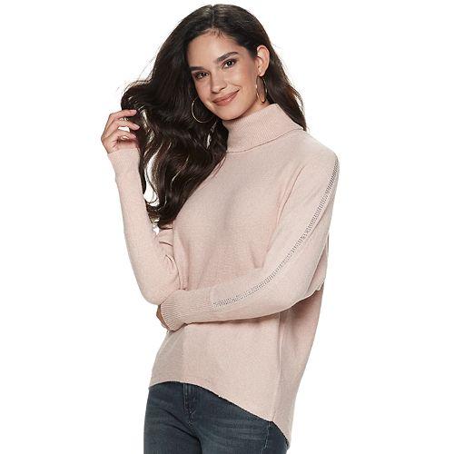 Women's Jennifer Lopez Embellished Dolman Sweater