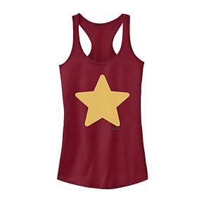Juniors' Steven Universe Steven Star Logo Tank