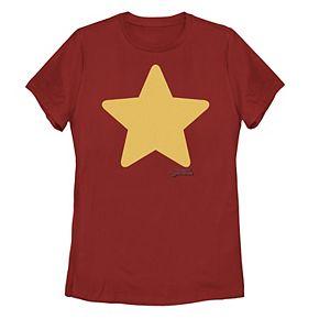 Juniors' Steven Universe Steven Star Logo Tee