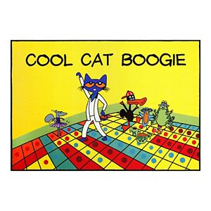 Pete The Cat Elementary Kids Area Rug