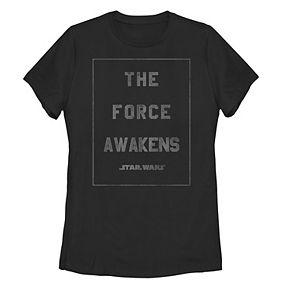 """Juniors' Star Wars """"The Force Awakens"""" Graphic Tee"""
