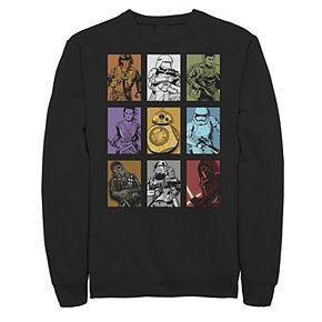 Juniors' Disney Star Wars Colorful Character Sweatshirt