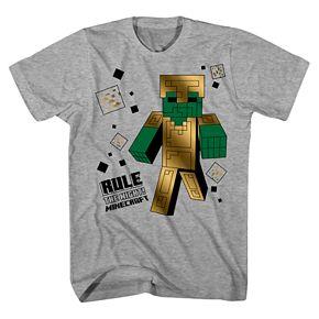 Boys 8-20 Minecraft Graphic Tee