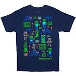 Boys 8-20 Minecraft Graphic Tee