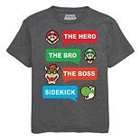 Boys 8-20 Nintendo Graphic Tee