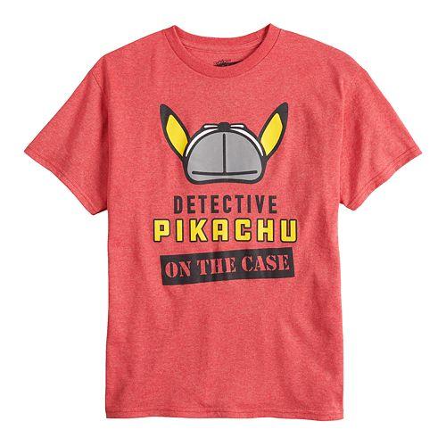 Boys 8-20 Detective Pikachu Tee