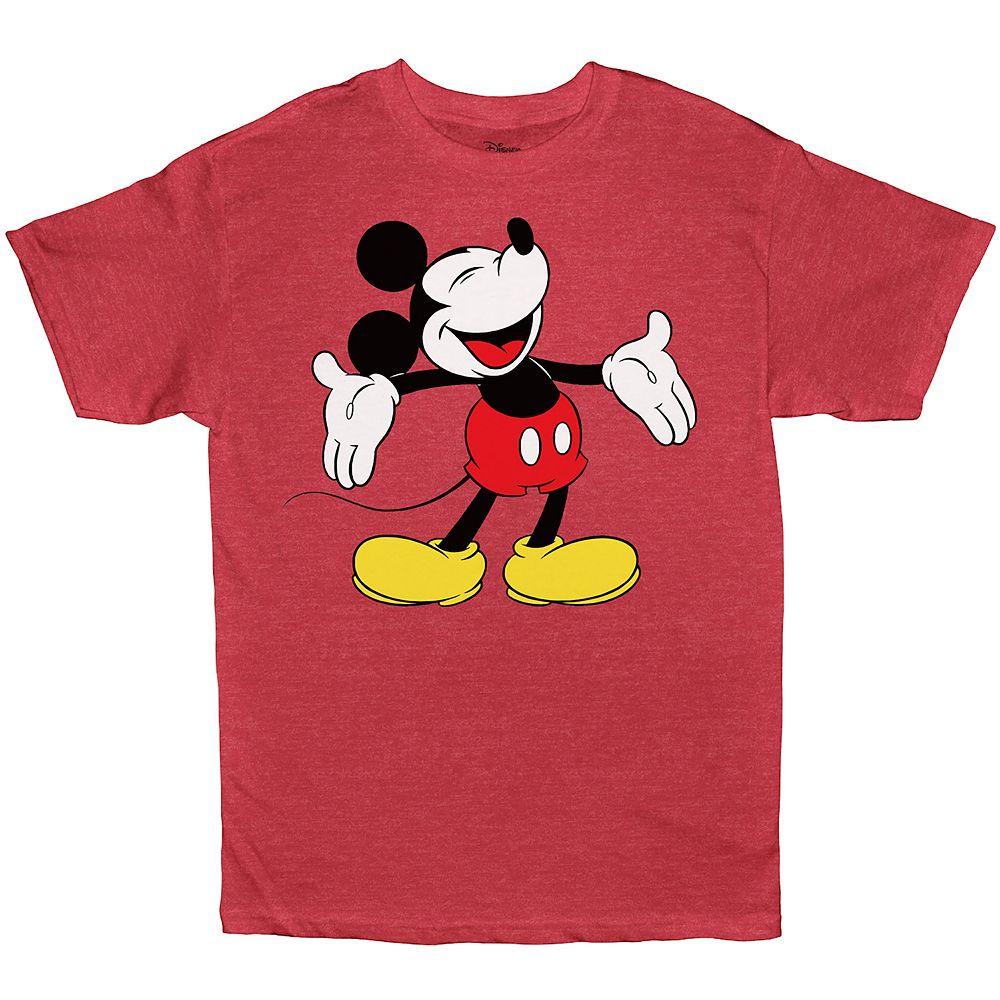 Boys 8-20 & Husky Disney Mickey Mouse Tee